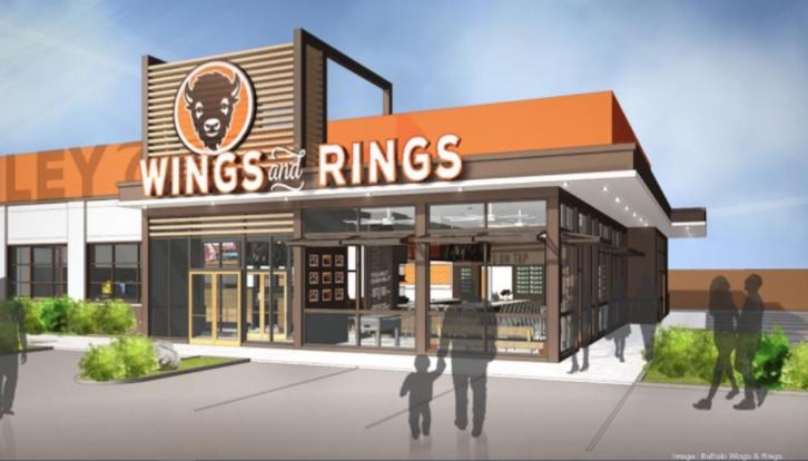 Buffalo Wings and Rings Rendering